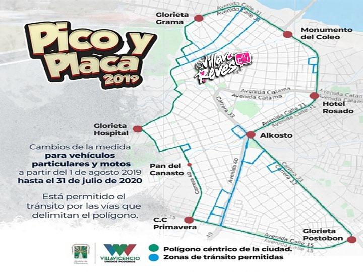 Pico y placa 2020 villavicencio