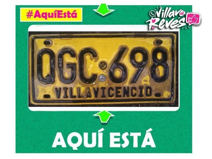 #AquíEstá tu placa QGC 698 en nuestra sección de #Villavoalrevés
