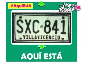 #AquíEstá tu placa SXC 841 en nuestra sección de #Villavoalrevés