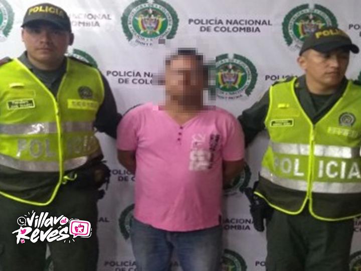 Capturado por violencia contra servidor público en Villavicencio