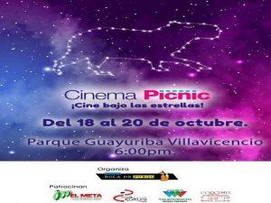 Festival de cine bajo las estrellas en el Parque Guayuriba