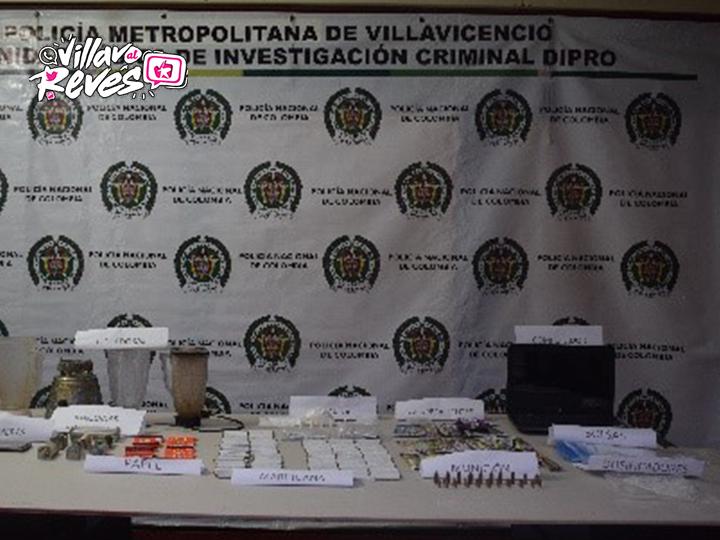 Tres personas capturadas por comercialización de estupefacientes en el barrio Comuneros de Villavicencio