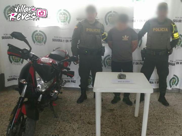 Capturado en San Juan de Arama por el delito de tráfico, fabricación y/o porte de estupefacientes