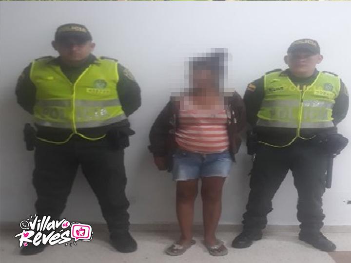 Una mujer capturada por porte, fabricación y/o tráfico de estupefacientes en el barrio Brisas del Guatiquía