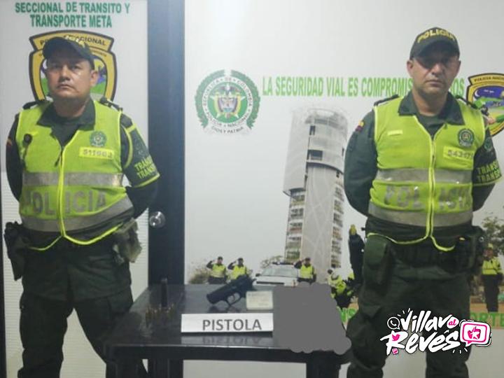 La Policía Nacional logró la incautación de un arma de fuego