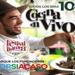 Porsiacaso y otras actividades gastronómicas se extenderán hasta el domingo 8 de diciembre
