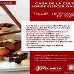 En Villavicencio se realizará taller para la producción de postres