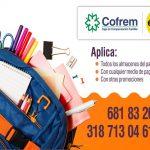 Afiliados a Cofrem reciben descuento en el éxito en la temporada escolar