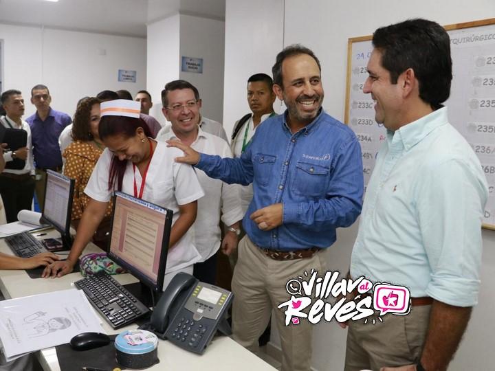 Gobernador del Meta recorre instalaciones del Hospital Departamental de Villavicencio