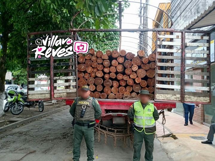 Incautada madera por presentar inconsistencias en la guía de movilización