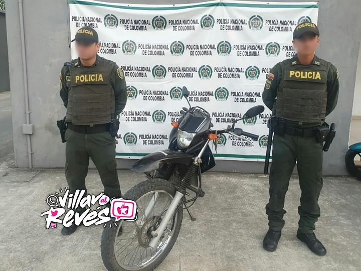 Una motocicleta fue recuperada en el municipio de Granada – Meta