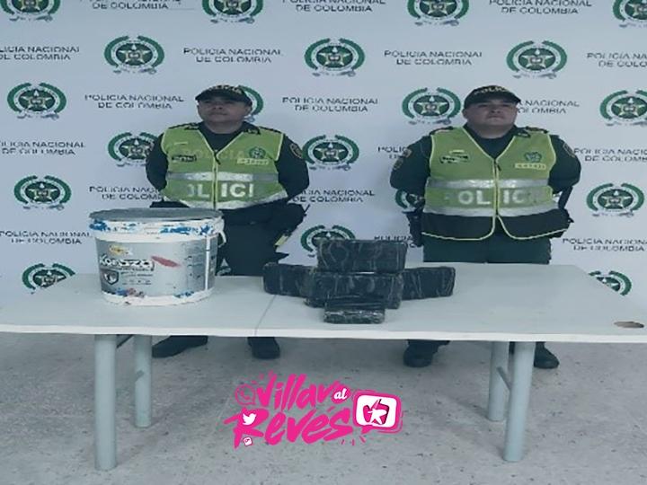 La Policía logro el hallazgo de 2.000 gr de marihuana en el barrio Vencedores de Villavicencio