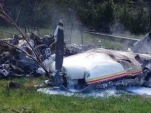 Mueren los 4 ocupantes de una avioneta que despefgsron del aeropuerto de Guaymaral en Bogotá