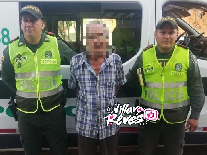 Hombre de la tercera edad fue capturado por acto sexual con menor de 14 años
