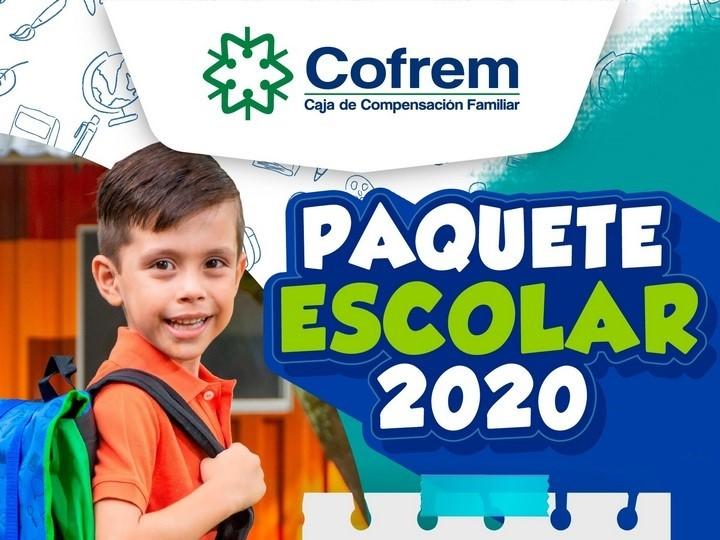 Cofrem inicia la entrega del paquete escolar 2020 en Villavicencio