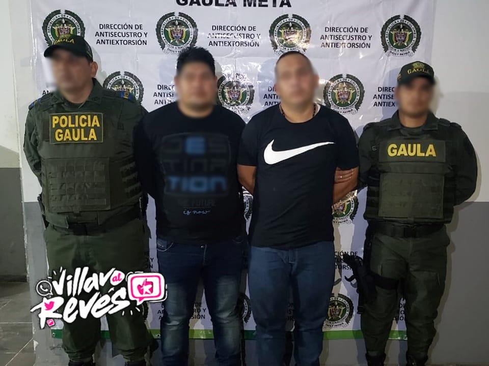 Dos presuntos extorsionistas fueron capturados en Granada – Meta