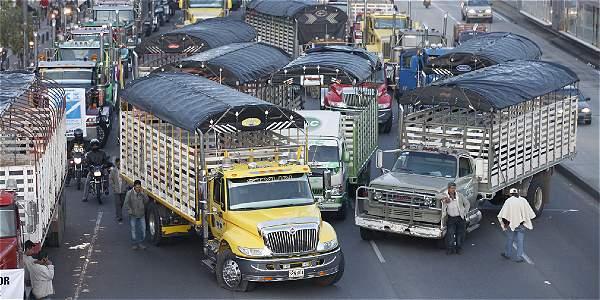Se levanta el paro camionero en Bogotá