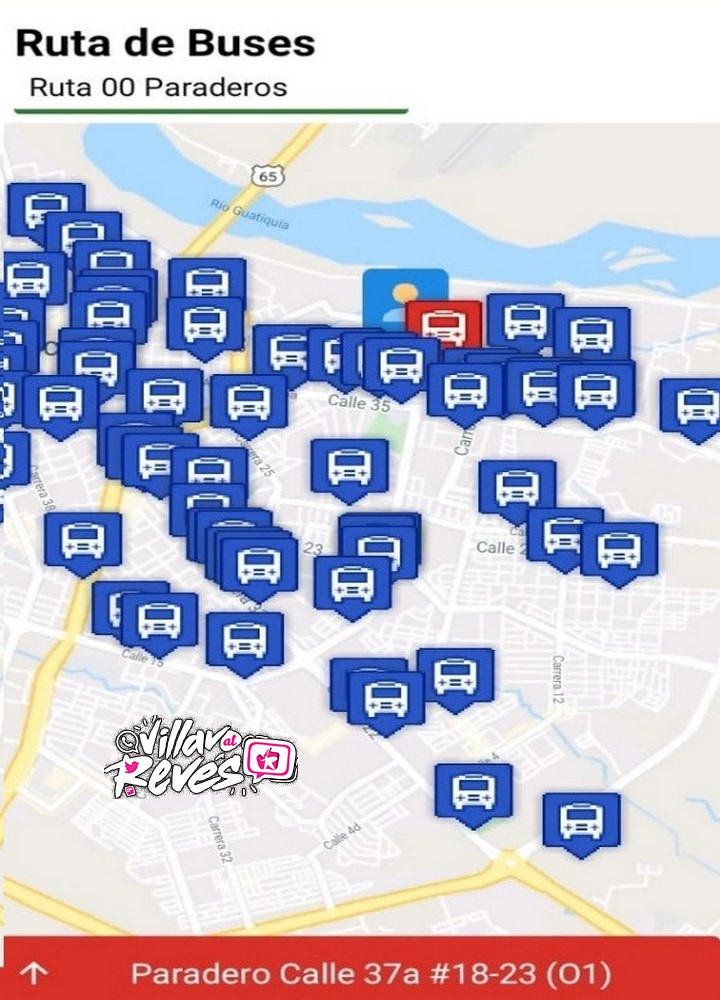 """La aplicación """"Villamov"""" permite consultar la ruta de buses en Villavicencio"""