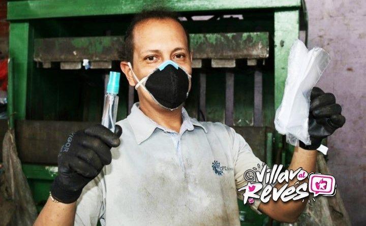 Gremio de Reciclaje de Villavicencio recibió dotación de kit de protección de COVID-19