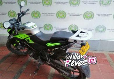 Policía Metropolitana incautó una motocicleta que figuraba con placa falsa en Villavicencio