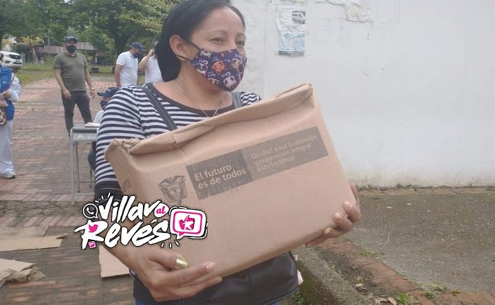 Alcaldía de Villavicencio entregó ayudas humanitarias a víctimas del conflicto armado