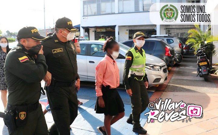 La menor Kenny Yiseth Moya de 13 años de edad fue encontrada en Guayabetal