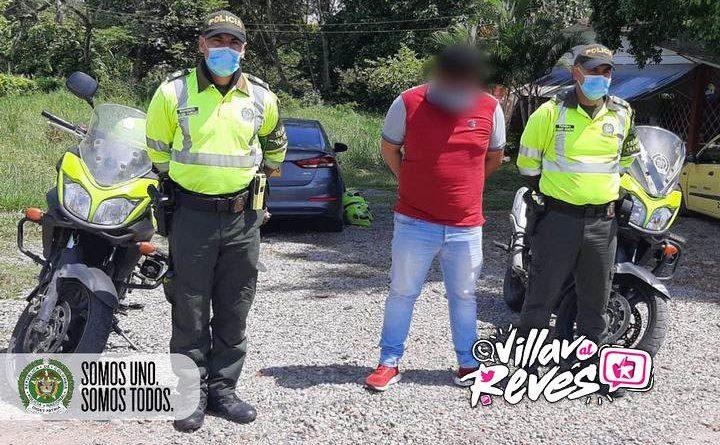 Fue capturado conductor de taxi en Villavicencio por falsedad en documento público