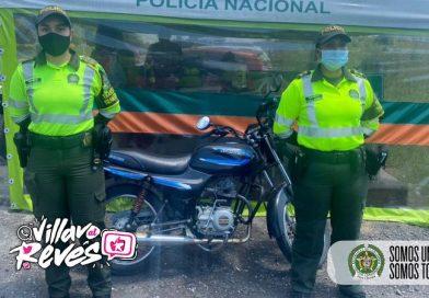 Una motocicleta incautada por inconsistencias en la licencia de tránsito