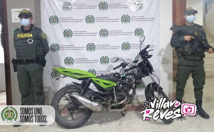 La Policía incautó dos motocicletas que no poseían placa en Mesetas – Meta